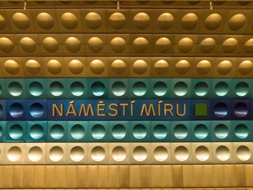 The Metro in Prague